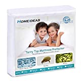 HOMEIDEAS Premium Waterproof Mattress Protector, Breathable & Quiet Mattress Cover, Fitted 14