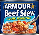 Armour Classic Homestyle Beef Stew, 20 Ounce (Pack of 12)