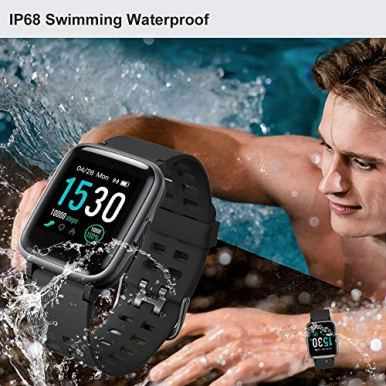 YAMAY-Smart-Watch-for-Android-and-iOS-Phone-IP68-Waterproof-Fitness-Tracker-Watch-with-Heart-Rate-Monitor-Step-Sleep-Tracker-Smartwatch-Compatible-with-iPhone-Samsung-Watch-for-Men-Women