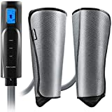 Compression Leg and Foot Massager with Heat - Calf Air Massager for Circulation - Massage for Arm, Leg, Calf - Support Varicose Veins,Calves Foot Pain,Pregnancy - Relax Gifts for Women,Men,Mom,Dad