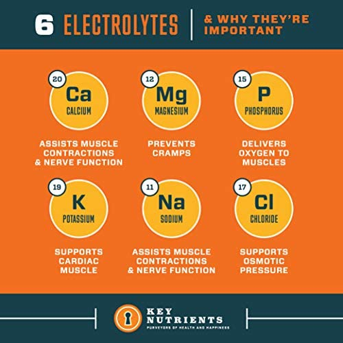 Electrolyte Powder, Orange Hydration Supplement: 90 Servings, Carb, Calorie & Sugar Free, Delicious Keto Replenishment Drink Mix. 6 Key Electrolytes - Magnesium, Potassium, Calcium & More. 8