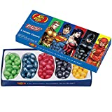 (Set/2) Jelly Belly Gourmet Beans DC Comics Justice League 5 Flavor Gift Box