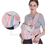 HUANXBD Kangaroo Baby Carrier Breathable, Ergonomic, Four Seasons Breathable, Baby Simple Portable Belt/Pink