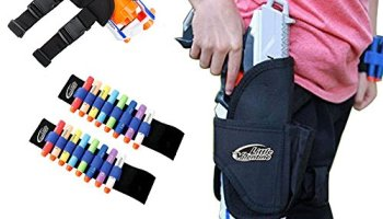 TMISHION Target Pouch Backpack Tactic Strorage Bag with Handle Large  Capacity for Nerf Guns Darts