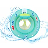 Free Swimming Baby Baby Swim Ring Seat Float Boat Trainer Inflatable Swimming Pool for The Age of 6 Months-6 Years Old (M)