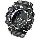 [LAD Weather] Digital Watch Powerful Solar Battery 100 Meters Water Resistant Military Outdoor Smarter smartwatch