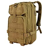 Condor Outdoor Products Compact Company Assault Pack, Coyote Brown