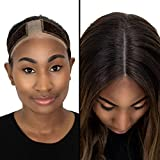 Milano Collection New! Lace WiGrip Velvet Comfort Wig Band for Lace Wigs and Frontals (Chocolate Brown)