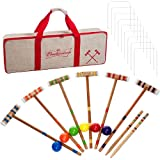 TMG Budweiser Croquet Set with Deluxe Carrying Case - Officially Licensed!