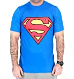 Superman Red Logo Men's Performance Compression Athletic T-Shirt (Adult X-Large)