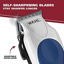 Wahl Color Pro Complete Hair Cutting Kit with Extended Accessories & Cape, Includes Color Coded Guide Combs and Color Coded Hair Length Key, Styling Shears, and Combs for Home Styling,79300-1001  Image 3