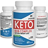 Keto pure diet pills - Advanced weight loss Keto supplement pure BHB Exogenous instant ketones salts to Kickstart Ketosis Burning Fat Boost Energy and Focus for men women 60 weight loss capsules 800mg