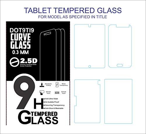 Dot9ti9 Unbreakable hammerproof Tempered Glass Screen Protector for Swipe X1 Tablet- Transparent (Pack of 1) 8