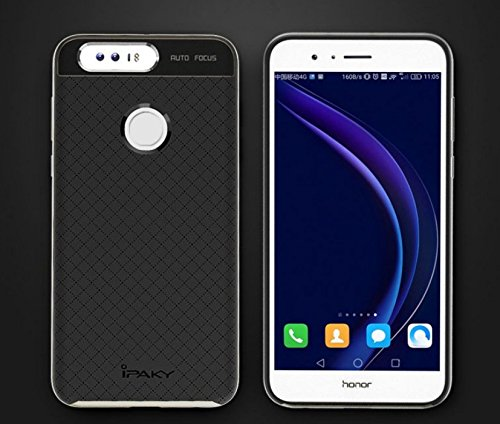516sjAs eeL - Case Creation Hybrid Ultra Thin Shockproof Back Bumper Cover for Huawei Honor 8 4GB Android 6.0 4G LTE 5.2 Inch (Champaine Gold)