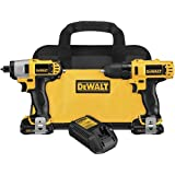 Dewalt DCK211S2R 12-volt MAX Cordless Lithium-Ion Drill Driver and Impact Driver Combo Kit (Renewed)