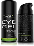 Best Eye Gel for Wrinkles, Fine Lines, Dark Circles, Puffiness, Bags, 75% ORGANIC Ingredients, With Hyaluronic Acid, Jojoba Oil, MSM, Peptides and More, Refreshing Eye Cream Combination