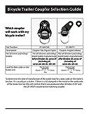 Instep Bicycle Trailer Coupler Attachment Schwinn Bike Trailers - 2 Pack SA074