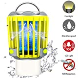 RUNACC Camping Lantern LED Flashlight Bug Zapper - Portable IP66 Waterproof Outdoor Tent Light Camp Lamp with 2000mAh Rechargeable Battery, SOS Emergency Warning Lighting