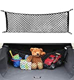 AutoAc Universal Cargo Net Trunk Organizer for Car 45-by-16-Inch Envelope Style Truck Bed Net Stretchable