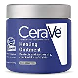 CeraVe Healing Ointment   12 Ounce   Cracked Skin Repair Skin Protectant with Petrolatum Ceramides   Packaging May Vary