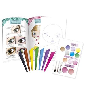 Fashion Angels 12169 Unicorn Magic Make-Up Artist Sketch Set, Multicolor