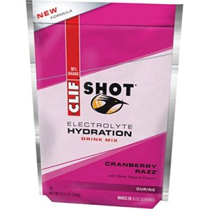 Clif Shot Electrolyte Hydration Drink Mix – 20 Servings