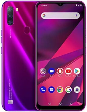 """BLU G90-6.5"""" HD+ Smartphone with Triple Main Camera, 64GB+4GB RAM and Android 10 -Magenta"""