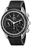 Omega Men's 32632405001001 Speed Master Analog Display Automatic Self Wind Black Watch