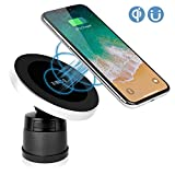 XINLON Magnetic Wireless Car Charger,Wireless Charging for Samsung S8 S8+ S8 Plus S7 S7 Edge Note 7 Note 8、Apple iPhone Xs/XS MAX/XR/X/8/8 Plus and All QI-Enabled Devices(No Car Charger)