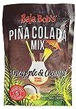 Baja Bob's PINA COLADA Mix - 43g Packet - Makes 16 Pina Coladas Each, Cocktail Mixer (2-pack)