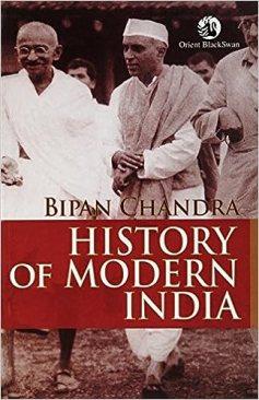History of modern Indian –Bipin Chandra