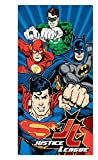 DC Comics Justice League Batman, Superman, Green Lantern, and The Flash Fiber Reactive Beach Towel - Power