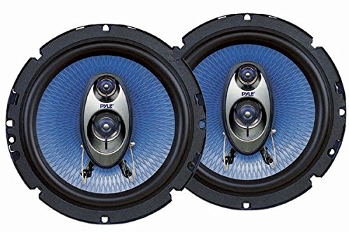 2. Pyle PL63BL 6.5-Inch 360-Watt 3-Way Speakers (Pair)