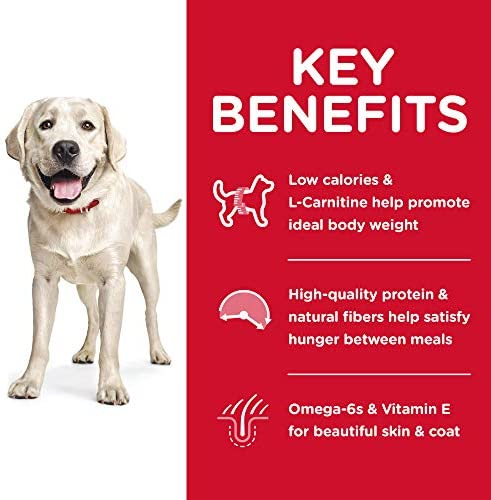 Hill's Science Diet Dry Dog Food, Adult, Large Breed, Light for Weight Management, Chicken Meal & Barley Recipe 4
