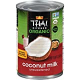 Thai Kitchen Organic Unsweetened Coconut Milk, 13.66 fl oz, pack of 6