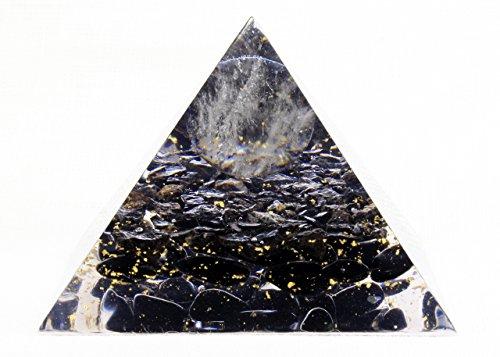 Orgone Pyramid - EMF Protection - Energy Generator - Crystal Pyramid - Obsidian Tourmaline Quartz - Orgonite Pyramid - LARGE & POWERFULL! Add Yours to Cart Now!
