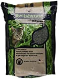 OurPets Switchgrass Natural Clumping Biodegradable Cat Litter with Biochar, 10 pound