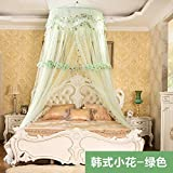 Mosquito Net for Camping bed - Korean Style Hung Dome Mosquito Net for Double Bed Fine Mesh Bed Canopy with Curtain Bedroom Decor Mosquito Bedding Mesh Net