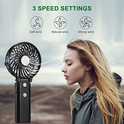 COMLIFE-Handventilator-Mini-tragbarer-persnlicher-USB-Ventilator-mit-Aufladbarem-5200mAh-faltbarer-Tischventilator-mit-Powerbank-Funktionfr-Haus-Bro-Reise-und-im-Freien-Schwarz-Neue-Version