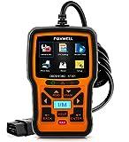 FOXWELL NT301 Car Obd2 Code Scanner Universal Check Engine Light Diagnostic Tool Automotive Fault Code Reader Obd II Eobd Scan Tool