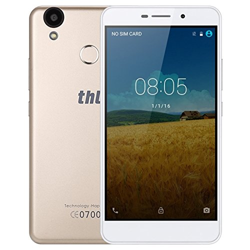 THL T9 Pro 16GB 5.5 Inch Android 6.0 Smartphone, MTK6737 Quad Core up to 1.3GHz, 2GB RAM GSM & WCDMA & FDD-LTE (Gold)
