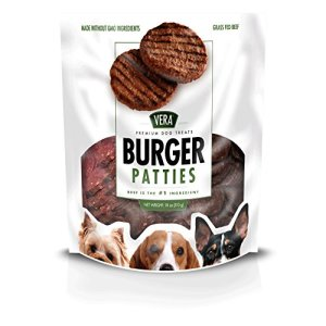 Vera Beef Burger Jerky Treats For Dogs, 18 Oz
