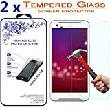 2X for HTC One X9 [ Tempered Glass ] Screen Protector ([2 Pack] for HTC One X9)