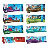 Clif Kid Zbar, Zfilled, Zprotein & Zfruit - Organic Granola Bars - Variety Pack (16Count) (Packaging May Vary)