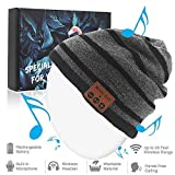 Bluetooth Beanie Hat, Winter Music Cap with HD Stereo Headset Wireless Headphones, Bluetooth Cable...