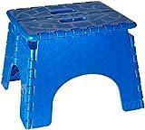 Folding Step Stool - #101-6B -  9 Inches High - 300 Pound Capacity - Blue