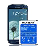 Galaxy S4 Active Battery,MAXBEAR 3800mAh Extended Slim Replacement Battery for Samsung Galaxy S4 & Galaxy S4 Active i9500 i9295 i537 AT&T Phone | S4 Spare Battery [12 Months Warranty]