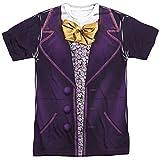 Trevco Willy Wonka & The Chocolate Factory Wonka Costume Adult T-Shirt Large