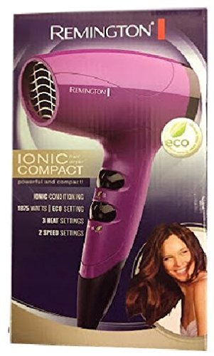 Remington D5000 Compact Travel Dryer (Purple)