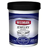 Weiman Jewelry Cleaner Liquid – Restores Shine Brilliance to Gold, Diamond, Platinum Jewelry & Precious Stones – 7 fl. oz.
